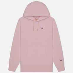 Мужская толстовка Champion Reverse Weave Logo Chest & Sleeve Hoodie Pink