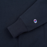 Мужская толстовка Champion Reverse Weave Logo Crew Neck Navy фото- 2