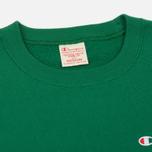 Мужская толстовка Champion Reverse Weave Logo Crew Neck Verdent Green фото- 1