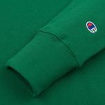 Мужская толстовка Champion Reverse Weave Logo Crew Neck Verdent Green фото- 3