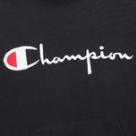 Мужская толстовка Champion Reverse Weave Logo Navy фото- 2