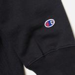 Мужская толстовка Champion Reverse Weave Logo Navy фото- 4