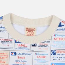 Мужская толстовка Champion Reverse Weave Archive Label Print Multicolor фото- 1