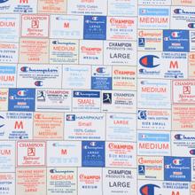 Мужская толстовка Champion Reverse Weave Archive Label Print Multicolor фото- 2
