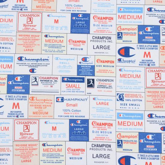 Мужская толстовка Champion Reverse Weave Archive Label Print Multicolor