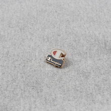 Мужская толстовка Champion Reverse Weave Archive Centenary Print Crew Neck Light Grey фото- 4