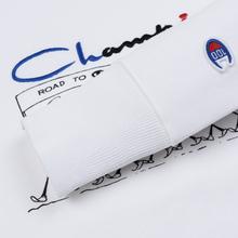 Мужская толстовка Champion Reverse Weave Archive Centenary Print Crew Neck White фото- 3