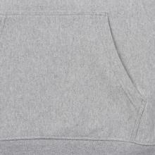 Мужская толстовка Champion Reverse Weave Multi Logo Hooded Light Grey фото- 4
