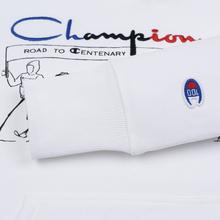 Мужская толстовка Champion Reverse Weave Multi Logo Hooded White фото- 3