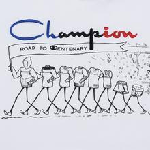 Мужская толстовка Champion Reverse Weave Multi Logo Hooded White фото- 5