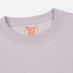 Мужская толстовка Champion Reverse Weave Script Logo Crew Neck Lavender фото- 1