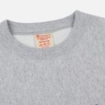 Мужская толстовка Champion Reverse Weave Script Logo Crew Neck Light Grey фото- 1