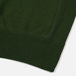 Мужская толстовка Champion Reverse Weave Script Logo Crew Neck Military Green фото- 4
