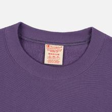 Мужская толстовка Champion Reverse Weave Script Logo Crew Neck Mulled Grape фото- 1