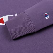 Мужская толстовка Champion Reverse Weave Script Logo Crew Neck Mulled Grape фото- 3