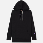 Мужская толстовка Champion Reverse Weave Super Oversized Hoodie Black фото- 0