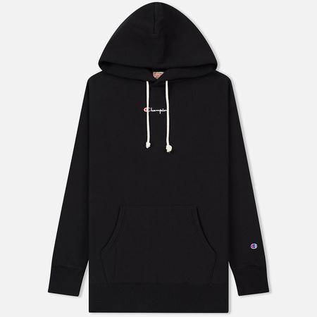 Мужская толстовка Champion Reverse Weave Super Oversized Hoodie Black
