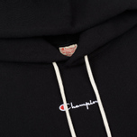Мужская толстовка Champion Reverse Weave Super Oversized Hoodie Black фото- 1