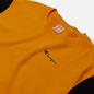 Мужская толстовка Champion Reverse Weave Small Script Bicolor Crew Neck Orange фото - 1