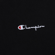 Мужская толстовка Champion Reverse Weave Small Script Crew Neck Black фото- 2