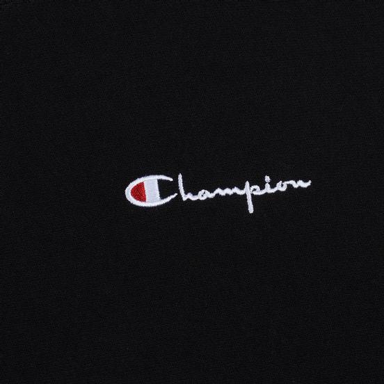 Мужская толстовка Champion Reverse Weave Small Script Crew Neck Black