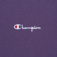 Мужская толстовка Champion Reverse Weave Small Script Crew Neck Mulled Grape фото- 2