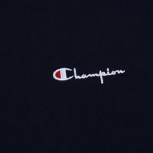 Мужская толстовка Champion Reverse Weave Small Script Crew Neck Navy фото- 2