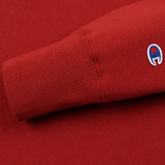 Мужская толстовка Champion Reverse Weave Small Script Crew Neck Dark Red