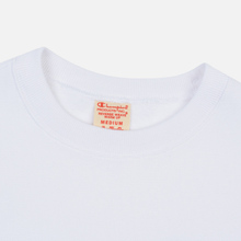 Мужская толстовка Champion Reverse Weave Small Script Crew Neck White фото- 1
