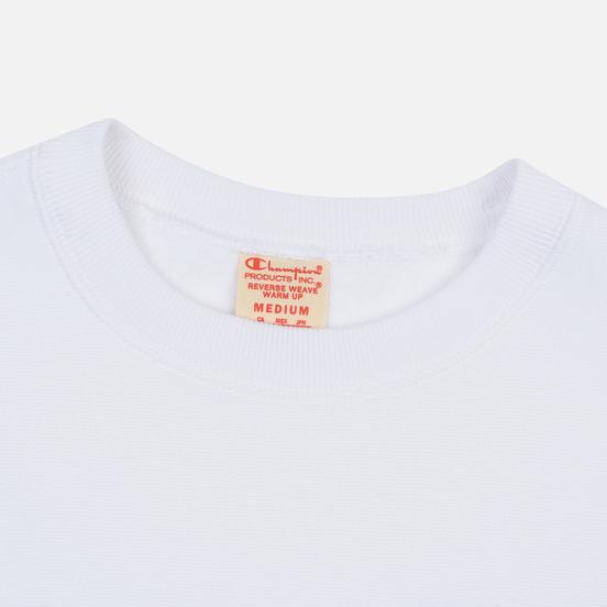 Мужская толстовка Champion Reverse Weave Small Script Crew Neck White