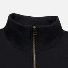 Мужская толстовка Champion Reverse Weave Small Script Half Zip Black фото- 2