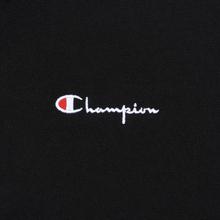 Мужская толстовка Champion Reverse Weave Small Script Half Zip Black фото- 3