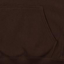 Мужская толстовка Champion Reverse Weave Small Script Hooded Brown фото- 4