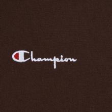 Мужская толстовка Champion Reverse Weave Small Script Hooded Brown фото- 2