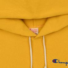 Мужская толстовка Champion Reverse Weave Small Script Hooded Golden Rod фото- 1