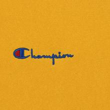Мужская толстовка Champion Reverse Weave Small Script Hooded Golden Rod фото- 2
