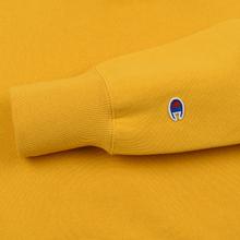 Мужская толстовка Champion Reverse Weave Small Script Hooded Golden Rod фото- 3