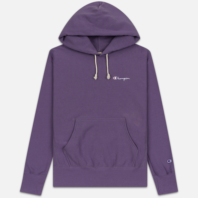 Мужская толстовка Champion Reverse Weave Small Script Hooded Mulled Grape
