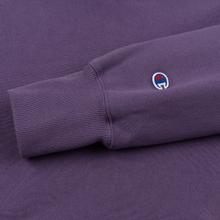 Мужская толстовка Champion Reverse Weave Small Script Hooded Mulled Grape фото- 1