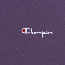 Мужская толстовка Champion Reverse Weave Small Script Hooded Mulled Grape фото- 4