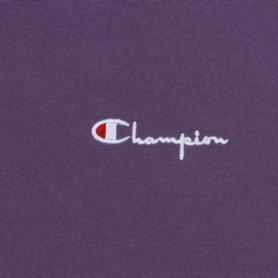 Мужская толстовка Champion Reverse Weave Small Script Hooded Mulled Grape