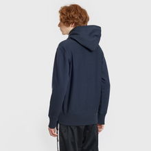 Мужская толстовка Champion Reverse Weave Small Script Hooded Navy фото- 3