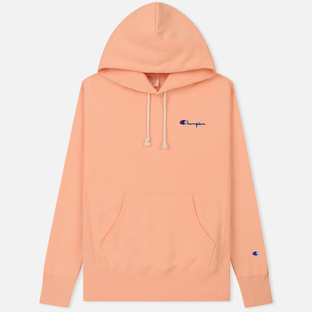 Мужская толстовка Champion Reverse Weave Small Script Hooded Peach
