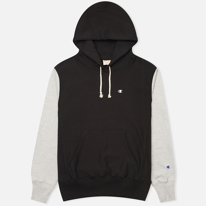Мужская толстовка Champion Reverse Weave Tone Black/Light Grey