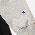 Champion Reverse Weave Tone Men's Hoodies Black/Light Grey photo- 3