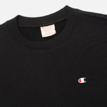 Мужская толстовка Champion Reverse Weave Tone Crew Black/Light Grey фото- 1
