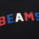 Мужская толстовка Champion Reverse Weave x Beams Crew Sweat Black фото- 2