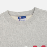 Мужская толстовка Champion Reverse Weave x Beams Crew Sweat Heather Grey фото- 1