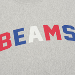 Мужская толстовка Champion Reverse Weave x Beams Crew Sweat Heather Grey фото- 2