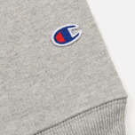 Мужская толстовка Champion Reverse Weave x Beams Crew Sweat Heather Grey фото- 3